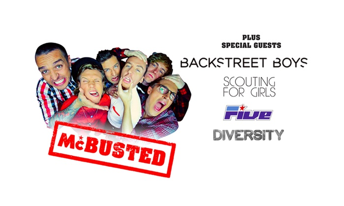 McBusted @ Weston-super-Mare - Weston Super Mare: McBusted and Backstreet Boys: Two Concert Tickets for £39.50 (50% Off)