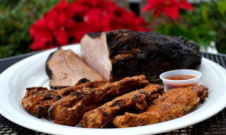 $18 for Two Groupons, Each Valid for $15 Worth of Barbecue at Bubba's Backyard BBQ ($30 Total Value)