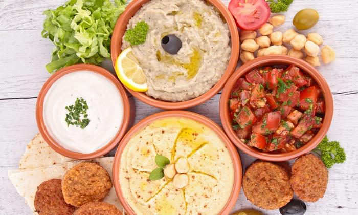 La Rosa dei Venti - La Rosa dei Venti: Menu con portate tipiche libanesi e birra o vino da 29,90 € al ristorante Rosa dei Venti