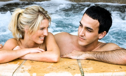 Hot-Tub Experience for Two Sunday–Thursday or Any Day of the Week at Puddingstone Hot Tubs Resort (Up to 49% Off)