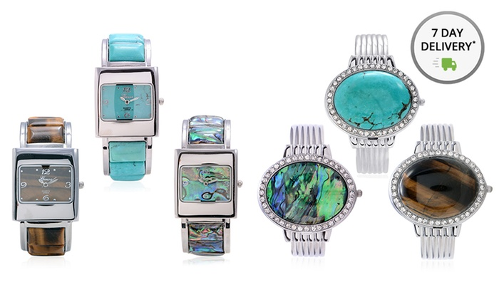Genoa Women's Gemstone Watches