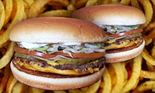 $5 for Two #1 Cheeseburgers and Two Sides of Fresh-cut Fries at Van's Pig Stand ($10.26 Value)
