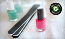 $35 for a Spa Mani-Pedi with Complimentary Hot-Stone Massage and Paraffin Dip at A Froma Nail Spa ($70 Value)