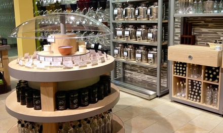 One Marasca Bottle of Oil or Three Bottles of Grapeseed Oil and Balsamic Vinegar at Oil & Vinegar (Up to 46% Off)