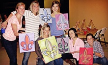 Catered Painting Class for Two, Four, or Six at K.A.S Gallery Spirits and Bottega (Up to 60% Off)