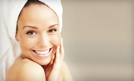 $85 for Summer Slim Down Package with Sauna Session, Facial, Wrap & Hairstyle at INNOVATIONS Salon & Spa ($175 Value)