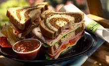 $8 for $16 Worth of Wraps, Paninis, Smoothies, and More at Camille's Sidewalk Caf