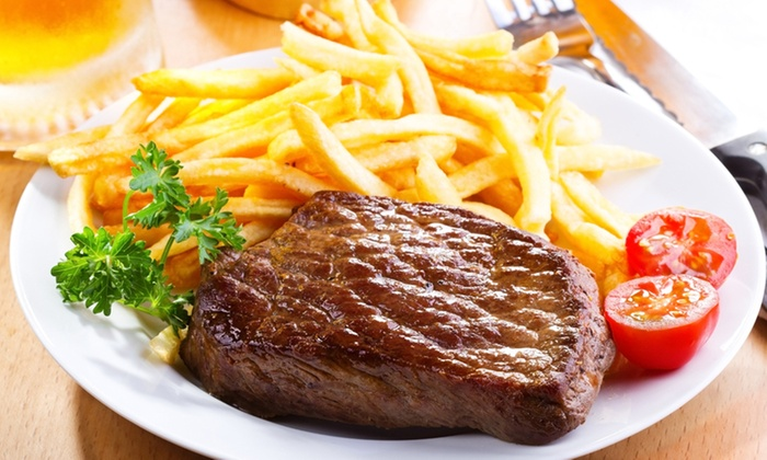 Stables Country Pub - Johannesburg: 300g Rump Steak and A Drink At Stables Country Pub for R124 (50% Off)