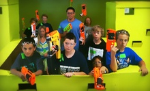 Two Hours of Nerf Tag for Two or Four, or 10 Total Hours of Nerf Tag at Dart Zone (Half Off)