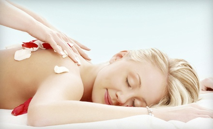 Salt-Scrub and Hydrating Body Wrap With Optional 30-Minute Massage at A Unique Miracle (Up to 62% Off)