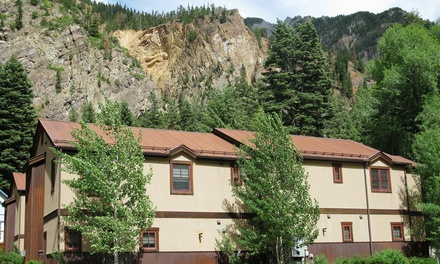 groupon daily deal - 1- or 2-Night Stay for Up to Eight at Ouray Mountain Vacations in Colorado. Combine Up to 10 Nights.