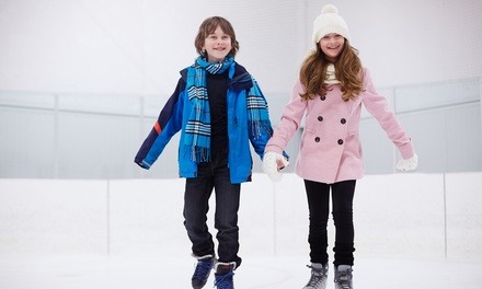 Ice Skating for Two or Four, or Eight-Week Learn to Skate Class at Suburban Ice (Up to 46% Off)