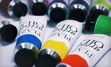 $10 for $20 Worth of Art Supplies at Plaza Artist Materials &amp; Picture Framing