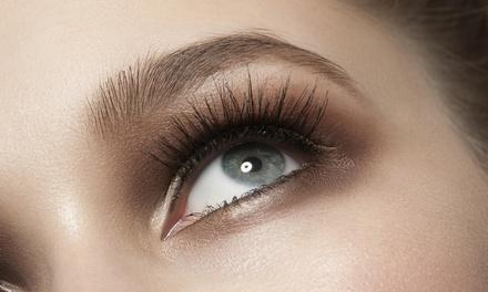 Eyelash and Eyebrow Tint or Long-Term Eyelash Extensions at Eye Tame Lashes (Up to 53% Off)