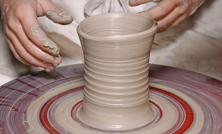 One, Three, or Five Wheel-Pottery Classes with Glazing Sessions at Fire & Mud Studios (Up to 59% Off)