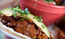 $10 for $20 Worth of Mexican Cuisine for Two at Petra 