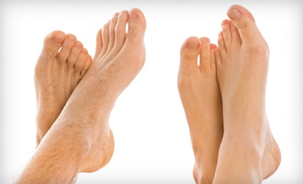 Foot and Ankle Consultation or Laser Toenail-Fungus Removal for One or Both Feet at Chicago Foot Clinic (Up to 63% Off)
