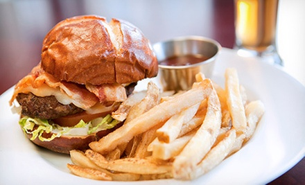 American Food at Bad Dog American Pub (Half Off). Two Options Available.