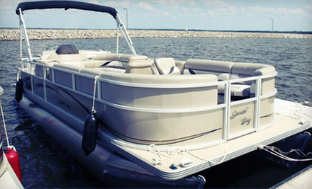 $117 for Full-Day Pontoon Rental for Up to 14 from the Main Harbor Store (Up to $205 Value)