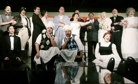 """The Drowsy Chaperone"" with Dinner at Lazy Susan Dinner Theatre (Up to 51% Off)"