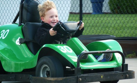$18 for Three Groupons, Each Valid for $10 Worth of Activities at AJ's Family Fun Center ($30 Value)