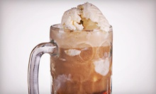 $4.50 for Two Medium Root-Beer Floats at Weber's Superior Root Beer Stand ($9 Value)
