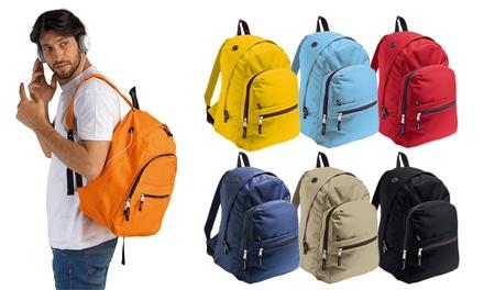 Mochila modelo Express disponível em sete cores diferentes por 16,99€