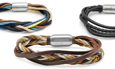 Men's Genuine Leather Bracelets