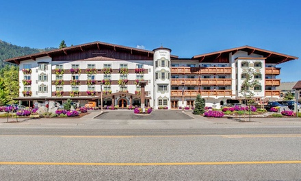 Stay at the Bavarian Lodge in Leavenworth, WA; Dates into June