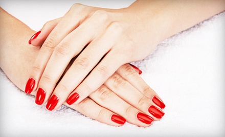 $29 for a Spa Mani-Pedi at Hair Body &amp; Soul ($70 Value)
