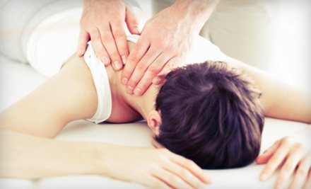 60- or 90-Minute Custom Massage or 75-Minute Hot-Stone Massage from The Pressures On (Up to 58% Off)