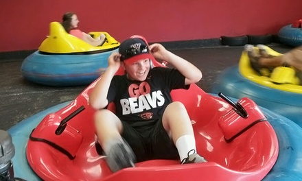 Two Bumper Car Rides Each and 100 Prize Tickets for Two or Four at Jabbersons Fun Center (50% Off)