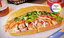 $18 for Three Groupons, Each Good for $10 Worth of Banh Mi and Vietnamese Food at Dinosaurs ($30 Total Value)