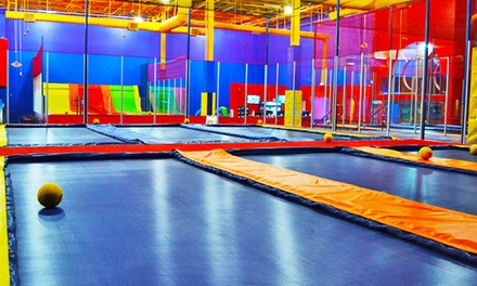 Two Hours of Trampoline Jumping, Games, and Activities for Two or Four at JumpStreet (Up to 52% Off)