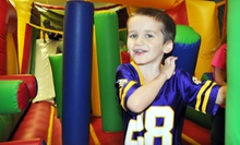 Three or Six Open Play Sessions at Jumps & Downs in Shakopee (Up to 55% Off)