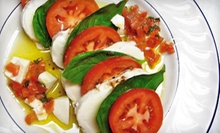 Italian Food for Two or Four at Cafe Sistina (Up to 53% Off)