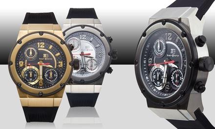 Buech & Boilat Bastone Collection Men's Swiss Chronograph Watch