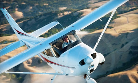 One or Three Flight Lessons and a Membership to AeroDynamic Aviation (Up to 68% Off)