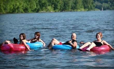 Tubing, Rafting, Canoeing, or Kayaking Trip Plus Barbecue Lunch from Delaware River Tubing (Up to 48% Off)