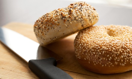$15 for Three Groupons, Each Good for $8 Worth of Bagels at Gunther Tooties ($24 Total Value)