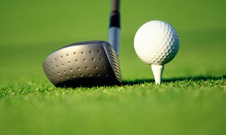 Golf Package with Lunch and Bucket of Balls for Two or Four at Oak Hollow Golf Course (50% Off)