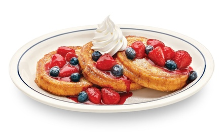 $9 for $15 Worth of Breakfast, Lunch, or Dinner at IHOP