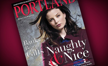 "One-, Two-, or Three-Year Subscription to ""Portland Magazine"" (Up to 58% Off)"