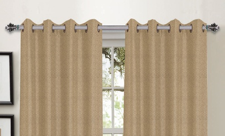 Hotel Collection Foamback Blackout Panel Pair