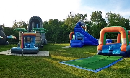 Splash Zone Session or Round of Mini Golf for Two or Four at Sir Goony's Family Fun Center (Up to 53% Off)