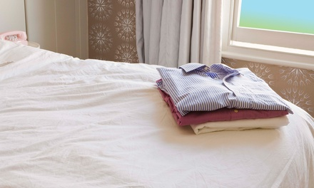 Drop-Off and Pickup Laundry Services at Harding Place Coin Laundry (50% Off). Two Options Available.