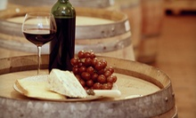 $22 for a Local Wine Tasting with Snacks and Wine Credit for Two at Wineries and Grille in St Croix Falls ($52 Value)