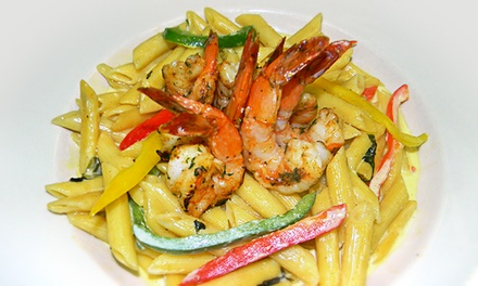 Caribbean Cuisine for Dine-In or Carryout at Footprints (Up to 40% Off)