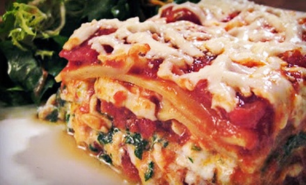 Italian Cuisine at Caruso&#x27;s Ristorante (Half Off). Two Options Available.