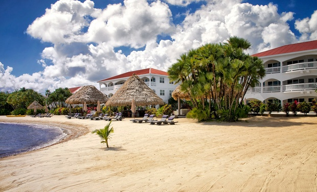 TripAlertz wants you to check out 3-, 4-, or 5-Night Stay for Up to Four at Belize Ocean Club in Placencia, Belize. Combine Multiple Nights. Beachfront Resort in Belize - Waterfront Belize Resort